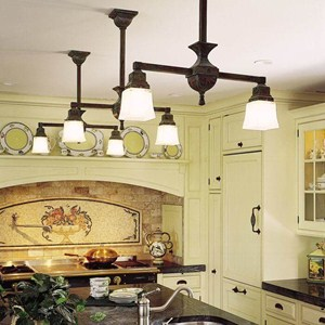 Oak Park™ Two Light Chandelier with 2-1/4 in. shade holders down