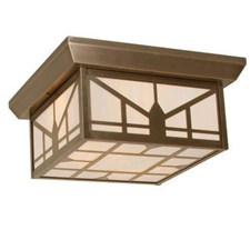 Sunrise Lantern™ 16 in. Wide Semi Flush Exterior Ceiling Light