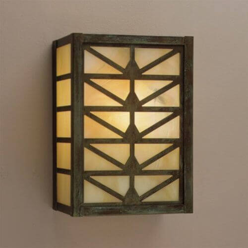 Sunrise Center Lantern™ 9 in. Wide Sconce without Roof