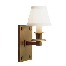 Nashota™ One Light Straight Arm Sconce with electric candle