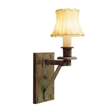 Nashota™ One Light Bracket Sconce with electric candle