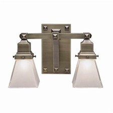 Nashota™ Two Light Bracket Sconce with 2-1/4 in. shade holders