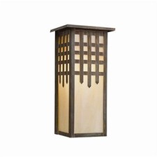 Castle Gate Lantern™ 6 in. Wide Flush Exterior Wall Light with Roof