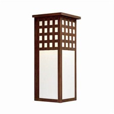 Castle Gate Lantern™ 7 in. Wide Flush Exterior Wall Light with Roof