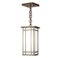 Studio Lantern™ 5 in. Wide Chain Hung Exterior Pendant Light