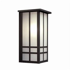 Studio Lantern™ 7 in. Wide Flush Exterior Wall Light with Roof