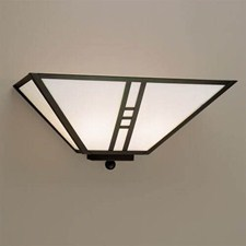 Mission Lantern™ 15 in. Wide Flush Wall Sconce