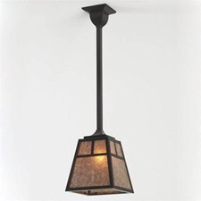 Windowpane Lantern™ 10 in. Wide Solid Stem Pendant
