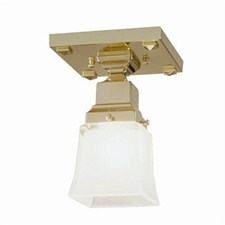 Nashota™ One Light Flush Ceiling Fixture with 2-1/4 in. shade holder