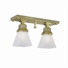 Nashota™ Two Light Flush Ceiling Fixture with 2-1/4 in. shade holders