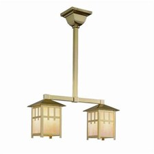 Craftsman Lantern™ Two Light Pendant
