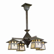 Stamford™ Four Light Rustic Chandelier