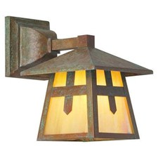 Stamford Lantern™ 7 in. Rustic Exterior Wall Light