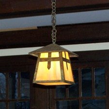Stamford Lantern™ 7 in. Rustic Pendant Light