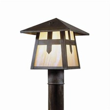 Stamford Lantern™ 7 in. Rustic Post Light