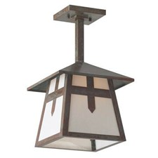 Stamford Lantern™ 9 in. Rustic Pendant Light