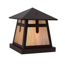 Stamford Lantern™ 15 in. Rustic Pier Light