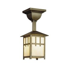 Craftsman Lantern™ 5 in. Wide Solid Stem Exterior Pendant Light