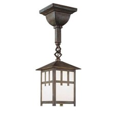 Craftsman Lantern™ One Light Chain Link Pendant