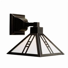 Mission Lantern™ 8 in. Wide Straight Arm Sconce
