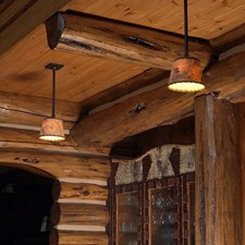 Durham™ One Light Rustic Pendant Light