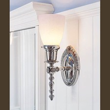 Sheraton™ One Light Straight Arm Sconce with 2-1/4 in. shade holder