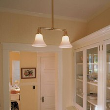 Shoreland™ Two Light Pendant with 2-1/4 in. shade holders down