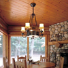 Sutter™ Five Light Rustic Chandelier