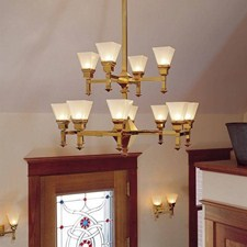 Wentworth™ Twelve Light Two Tier Chandelier with 2-1/4 in. shade holders