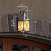 Lancaster™ Lantern 7 in. Wide Scrolled Hook Exterior Wall Light