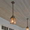Lancaster™ Lantern 7 in. Rustic Pendant Light
