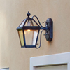 London™ Lantern 8 in. Wide Scrolled Arm Traditional Lighting