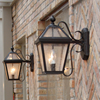 London™ Lantern 8 in. Wide Scrolled Arm Hospitality+ Light