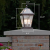 London™ Lantern 10 in. Wide Outdoor Lantern