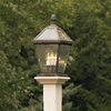 London™ Lantern 10 in. Wide Traditional Exterior Pier Light