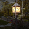 Stonehaven™ Lantern 10 in. Garden Post Light