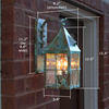 Lancaster™ Lantern 6 in. Garage Wall Light