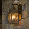 Lancaster™ Lantern 6 in. Victorian Gothic Wall Light