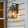 Lancaster™ Lantern 6 in. Crosscut Overlay Wall Light