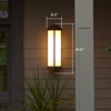 Tall Montara Lantern™ 6 in. Hotel Patio Wall Sconce