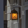 Stonehaven™ Lantern 10 in. Patio Wall Light