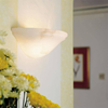 Navarra™ 12 in. Ambient Light Alabaster Wall Sconce