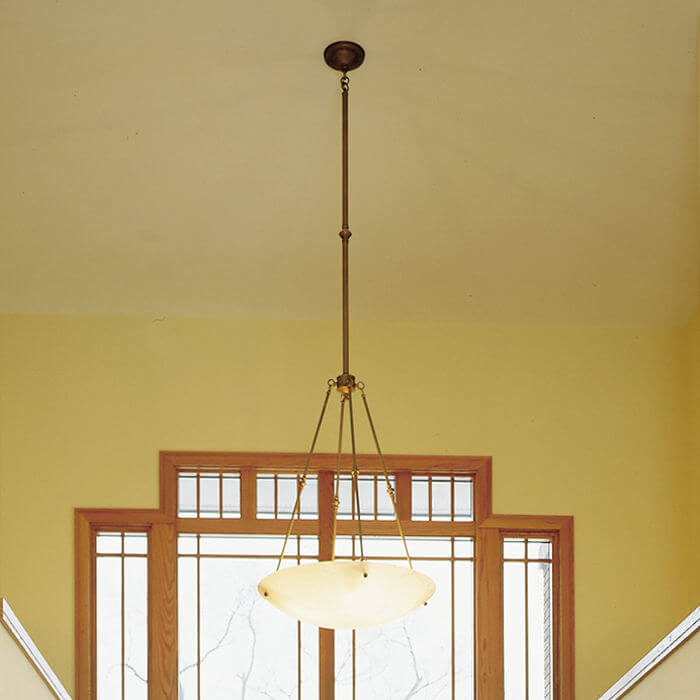Empire™ 30 in. Colonial Alabaster Pendant