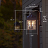 Stonehaven Lantern™ 12 in. Exterior Garage Light
