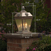French Country™ Lantern 11 in. Multi-Cluster Socket Pier Light