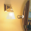 Oak Park™ One Light Straight Arm Craftsman Style Bedroom Wall Sconce