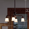 Oak Park™ four light cieling fixture for dining rooms