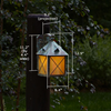 Stonehaven™ Lantern 8 in. Hotel Patio Sconce