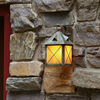 Stonehaven™ Lantern 8 in. Rustic Hotel Patio Sconce