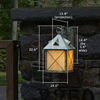 Stonehaven™ Lantern 14 in. Patio Wall Light